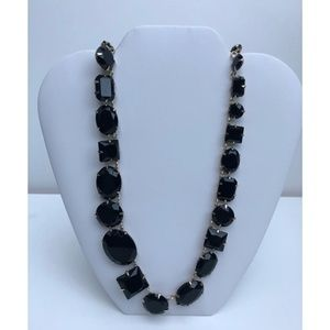 Etienne Aigner New Crystal Glass Necklace